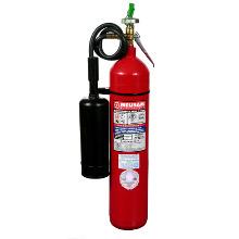 Extintores Matafuegos de CO2 con recipiente de acero